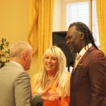 Kath Temple, Levi Roots, and His Excellency The Governor