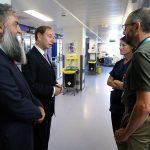 Governor Vice Admiral Sir David Steel visit to the GHA